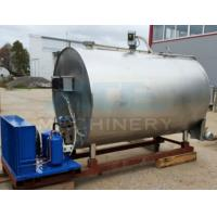 Quality 2000L Milk Cooling Tanks Stainless Steel Milk Cooler Tank 1000 Liter Water Tank for sale