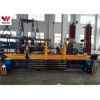 China Custom CNC Strip Cutting Machine With Flame / Oxygen Fuel For Plate Cutting Equipment wholesale