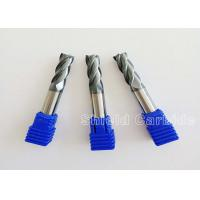 China Professional Solid Carbide Corner Radius End Mill 2 Flute Cnc Milling Cutter wholesale