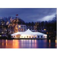 China Romantic Wedding Canopy Tent , 500 Person Tent Aluminum Alloy 6061T6 Mateiral wholesale