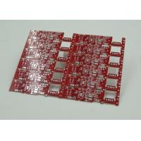 China Double Sided PCB Board Fabrication Red Solder Mask PCB PD Free HASL Finish wholesale