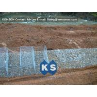 China Stainless Steel Galvanized Hexagonal Wire Mesh Gabion Boxes , 0.5mm Thick PVC Coated wholesale