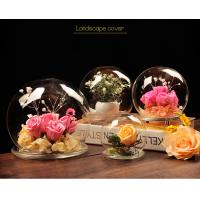 China BA (9) home docor clear acrylic spheres cover wholesale