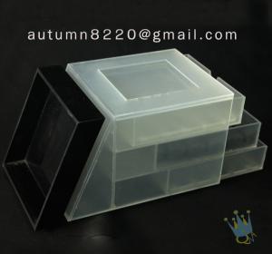 China BO (23) small acrylic display boxes wholesale