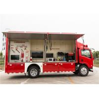 China Red Color Commercial Fire Trucks 3D Animation Simulate 119 Alarm Software wholesale