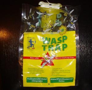China Eco - Friendly Disposable Hanging Fly Trap Wasp Trap Bag wholesale