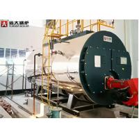 Small Capacity Diesel Light Oil Fired Hot Water Boiler For Hotel Heating