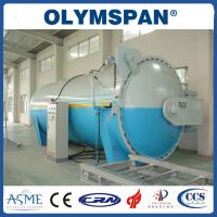 China Food industry Laminated Glass Autoclave Aerated Concrete / Autoclave Machine Φ2m wholesale