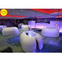 Buy cheap Customized Inflatable Structure Inflatable Office Pod Tent Mini Lighting For Decoration product
