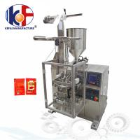 China Manufacturing automatic tomato paste sachet packing machine price ketchup packing machine wholesale