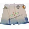 China Lotus / Fish Pattern Custom Printed Envelopes Special Size Kraft Coated Paper wholesale
