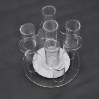 China Acrylic Clear Advertisement Jewellery Display Stands 100pcs Logo Drilling wholesale
