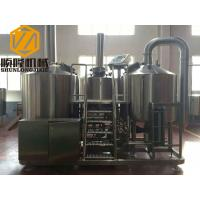 China Complete Microbrewery Brewing Equipment 10HL Capacity 3mm Inner Thickness wholesale