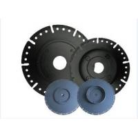China 7 Diamond Circular Saw Blade With Flange , Wet / Dry Cut Stone Cutting Saw Blades on sale