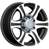 China Polished Chrome Luxury Car 17 Inch Alloy Wheels 16x7 17x7.5 wholesale