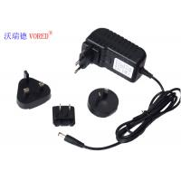 China 12V 2A Multi Plug AC Adapter , ABS Material Universal AC To 12v DC Power Supply wholesale