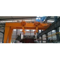 China YT operation Q345B material handling situations applied FEM semi structure gantry crane wholesale