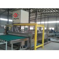 China PLC automatic Glass Washing And Drying Machine For Glass Curtain Wall / Facade Glass wholesale