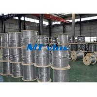 China 1 / 8 Inch Super Long Coiled Stainless Steel Tubing Bright Annealing Surface wholesale