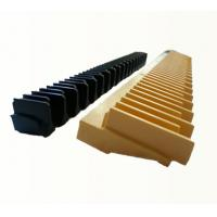 China Black Escalator Step Demarcations , Kone Escalator Parts / Components on sale