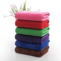 China Microfiber Filling Hotel Collection Bath Towels Rectangle Shape 1200g wholesale