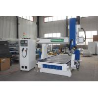 China Wood Pattern CNC Engraving And Cutting Machine , 5 Axis CNC Woodworking Machine wholesale