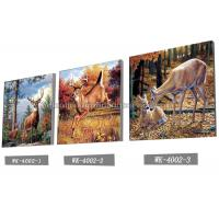 China Customised Framless 3D Lenticular Pictures 40x40cm Animal Images wholesale