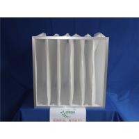 China White Pocket Air Filter HEPA Pre Filtration System Polyester Filter Bags wholesale