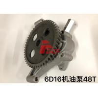 China Use For Mitsubishi 6d16 Oil Pump ME034664  Two Type Oil Gear Pump 48t 59t on sale