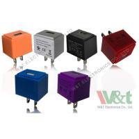China Colorful Cube European / Italy 5V AC DC USB Power Adapter For MP3 / MP4 / MP5 wholesale