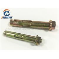 China Australia Dyna Sleeve Expansion Anchor Bolt With Flange Nut For Construction wholesale