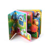 China EVA Plastic Children Baby Bath Custom Book Printing for Baby Early Education wholesale
