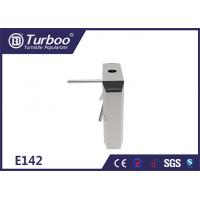 China 304 Stainless Steel Tripod Turnstile Gate / Turnstile Entry Security Systems wholesale