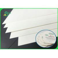 China 40pt 60pt 80pt Durable Uncoated Absorbent Paper For Disposable Paper Coaster wholesale