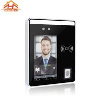 China Touch Screen Visible Light Face Access Control System With Fingerprint Reader wholesale