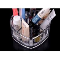 China 8 Compartments Clear Acrylic Display Stand Unique With Heart Shape wholesale