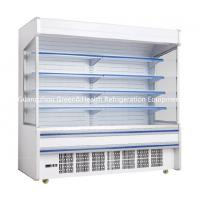 China Fruit / Drink Gray Multideck Open Chiller Adjustable For Convenience Store wholesale