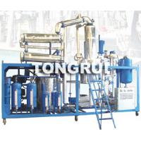 China Used Motor Oil Recycle Machine,Waste Oil Re-refinning, Engine Oil Vacuum Distilltion on sale