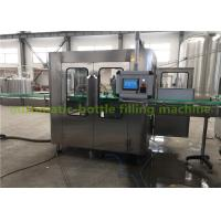 China Electric Hot Juice Filling Machine / Glass Bottle Production Line 5.88kw wholesale