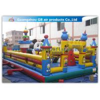 China Funny Giant Inflatable Amusement Park Happy Family Bouncy House wholesale