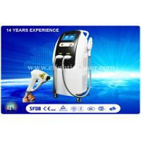 China 2 System In 1 IPL Diode Laser Machine 10.4 inch With 2 Handlepieces Beuaty Equipment wholesale