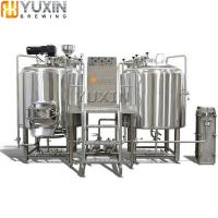 China 200l 300l 400l 500l Nano Beer Brewery Equipment with Electronic heating wholesale