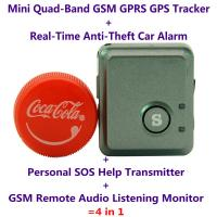 China V8S Mini GPS Tracker+Anti-Burglar Alarm+Personal SOS Help Alarm Transmitter+Spy GSM Audio Listening Transmitter Bug wholesale