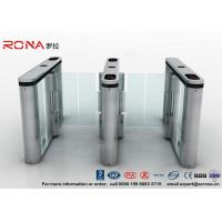 China Anti - Collision Walk Through Metal Swing Gate For Bus Station Card Reader System wholesale