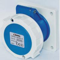 China Multi Color Industrial Power Socket / Industrial Receptacles Protection Degree IP67 on sale