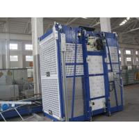 Buy cheap 100m Single Cage Construction Hoist , Steel Galvanized Material from wholesalers