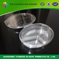 China Customize Disposable Food Containers  Clear Compartment Container on sale