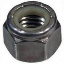 China 3602 / 2604 Brass alloy, Stainless steel nylon lock nut with Baking finish , Anodizing wholesale