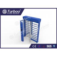 China Stainless Steel Full Height Turnstile Automatic Access Control System Gate wholesale
