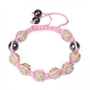 China 2012 NewFashion Tresor Paris Crystal Beaded Bracelets with Shiney Beads CJ-B-159 wholesale